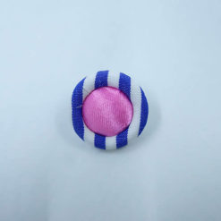 striped-fabric-button-blue-pink