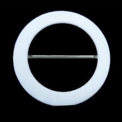 white-circle-buckle