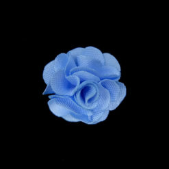 flower trims with blue color