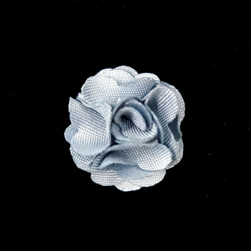 flower trims with light blue color